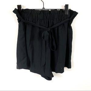 SHEIN Paper Bag High Waisted Shorts